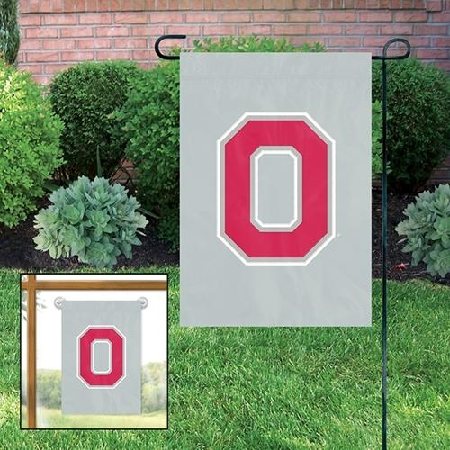 Ncaa College Ohio State Osu Buckeyes Garden Flags - Gfosu - Ohio State Buckeyes Garden/window Flag GFOSU