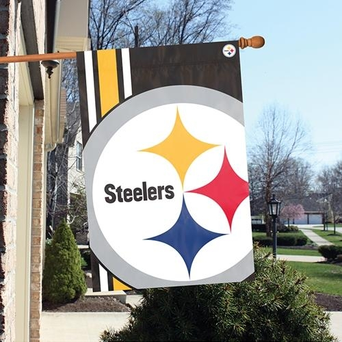 Pittsburgh Steelers Bold Logo Banner - Blst - Nfl Football Pittsburgh Steelers Banners BLST