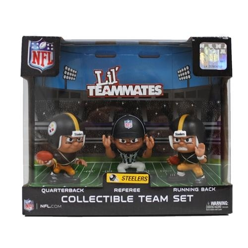 Pittsburgh Steelers Lil' Teammates Team Set - Lt3pst - Nfl Football Pittsburgh Steelers Bbq Sets LT3PST