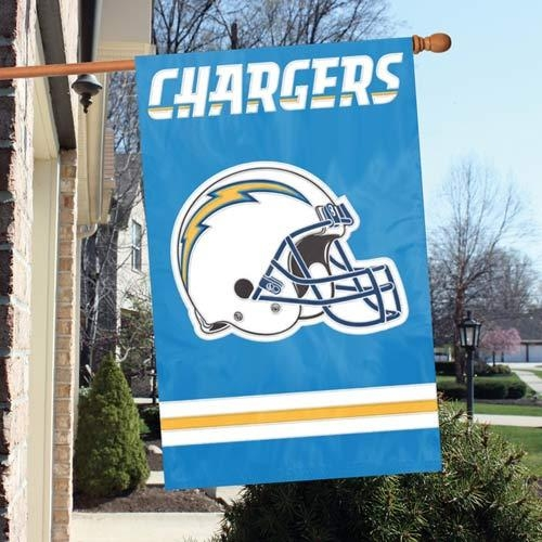 San Diego Chargers Appliqu Banner Flag - Afsd - Pro Rugby San Diego Breakers Banners AFSD