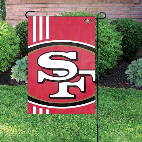 Nfl Football San Francisco 49ers Garden Flags - Bgsf - San Francisco 49ers Bold Logo Garden Flag BGSF