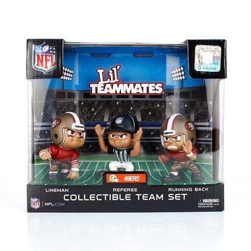 San Francisco 49ers Lil' Teammates Team Set - Lt3psf - Nfl Football San Francisco 49ers Bbq Sets LT3PSF