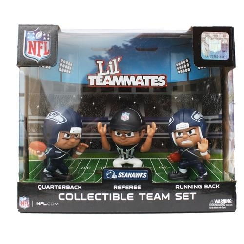 Seattle Seahawks Lil' Teammates Set - Lt3pse - Nfl Football Seattle Seahawks Bbq Sets LT3PSE