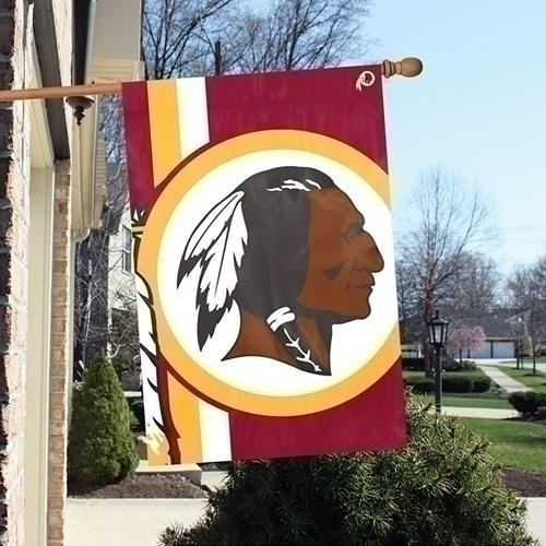 Washington Redskins Bold Logo Banner - Blwa - Nfl Football Washington Redskins Banners BLWA