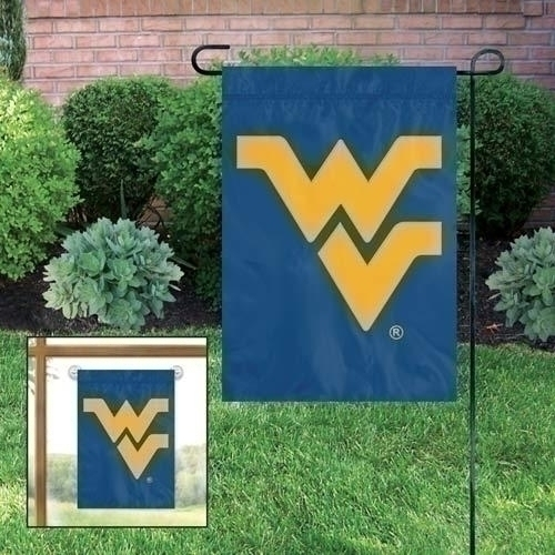 Ncaa College West Virginia Wvu Mountaineers Garden Flags - Gfwv - West Virginia Mountaineers Garden/window Flag GFWV