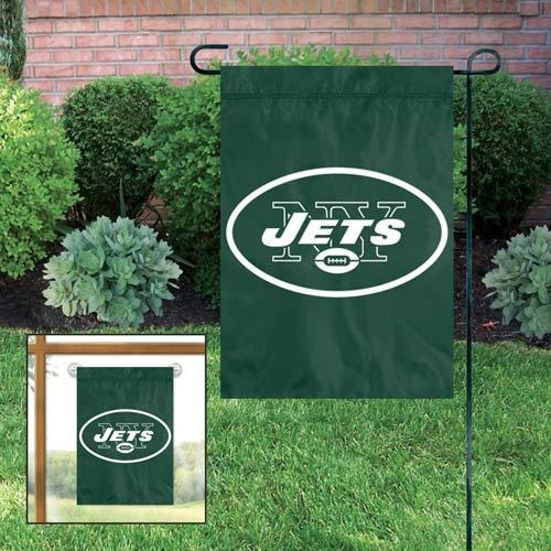 Nfl Football New York Jets Garden Flags - Gfje - New York Jets Garden/window Flag GFJE