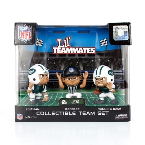 New York Jets Lil' Teammates Team Set - Lt3pje - Nfl Football New York Jets Bbq Sets LT3PJE